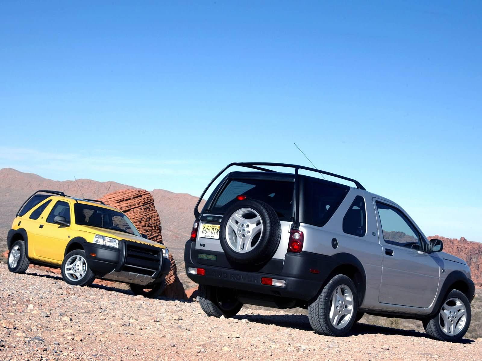 Land Rover Freelander front and back