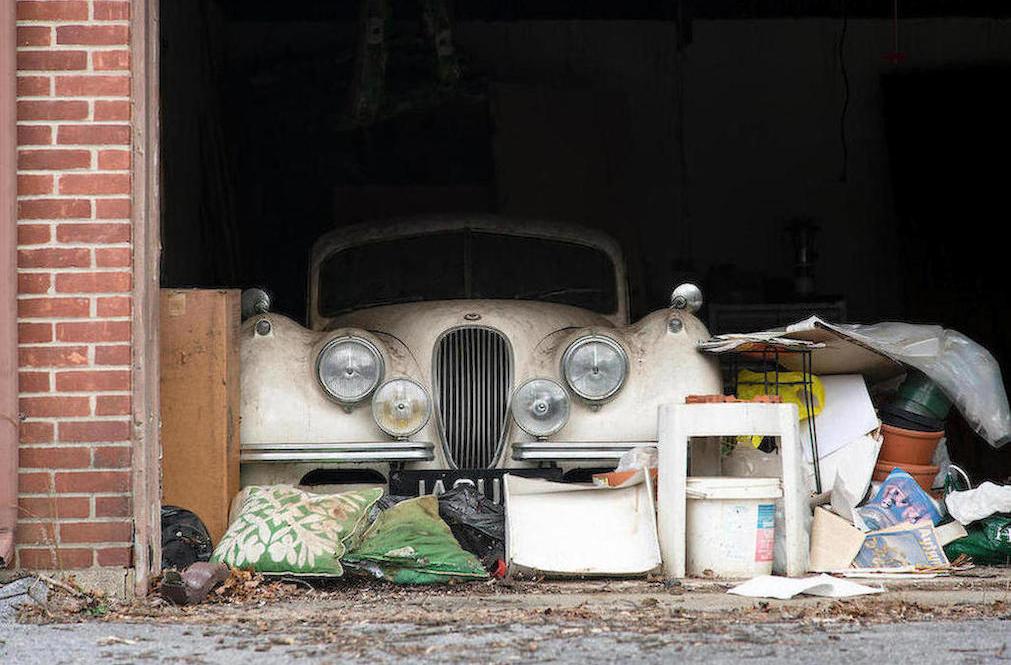 1952 Jaguar XK120 Fixed Head Coupe Garage Find