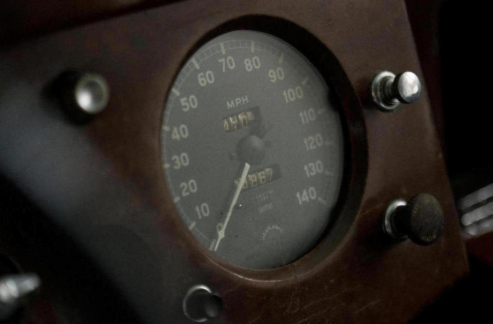 1952 Jaguar XK120 Fixed Head Coupe Speedometer