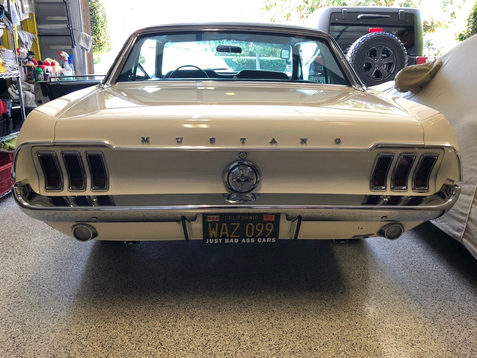 1968 Ford Mustang Rear Lights