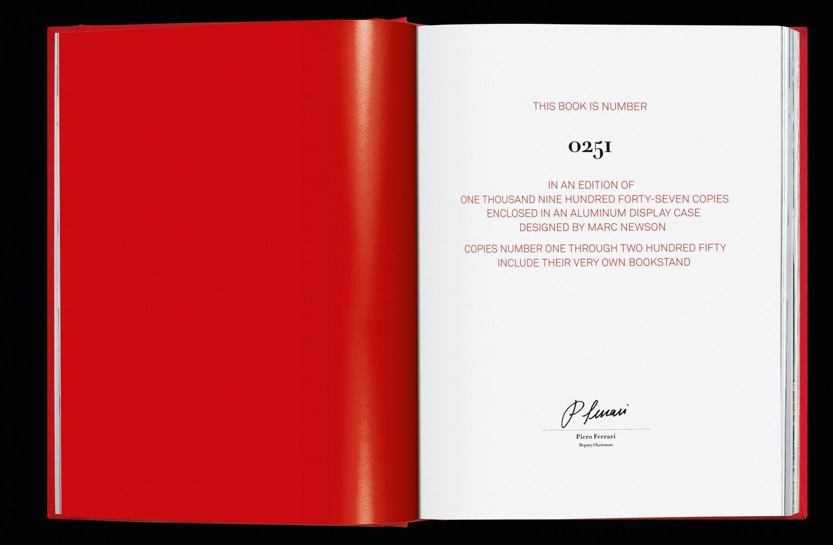 Ferrari page one