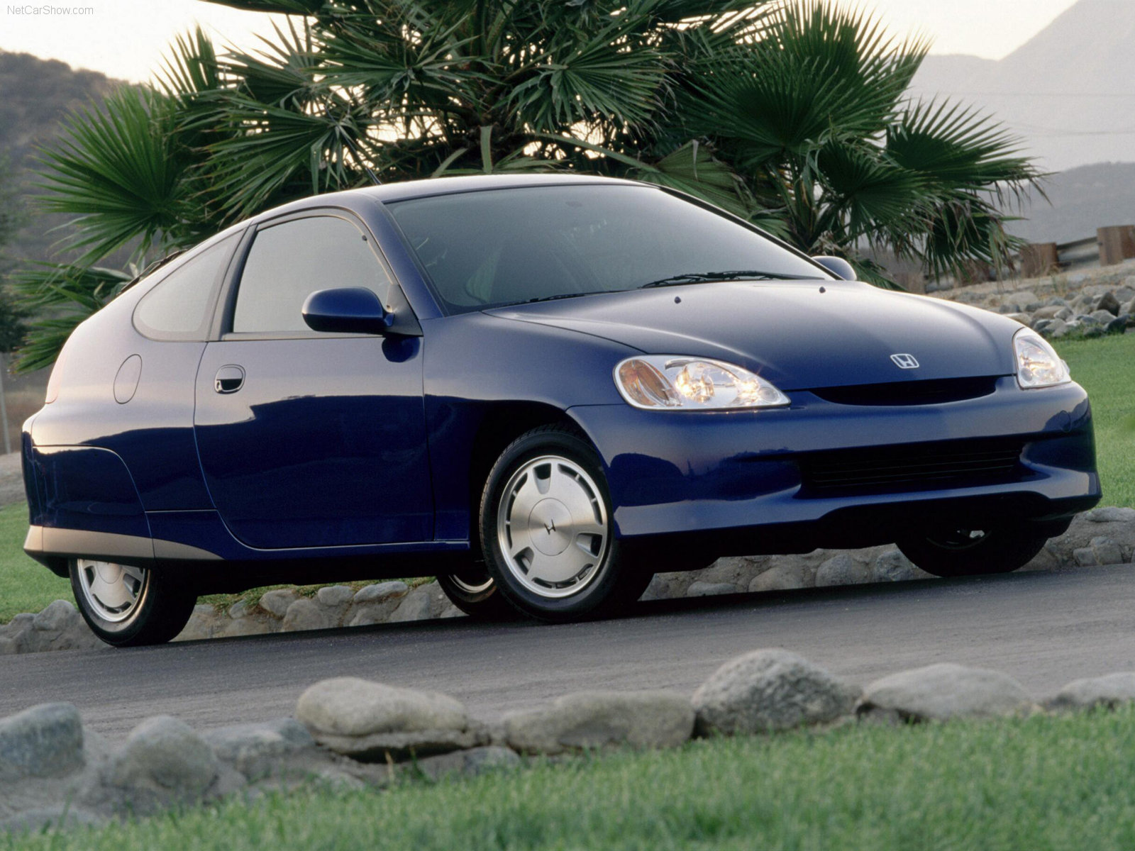 2000 Honda Insight Front 3/4