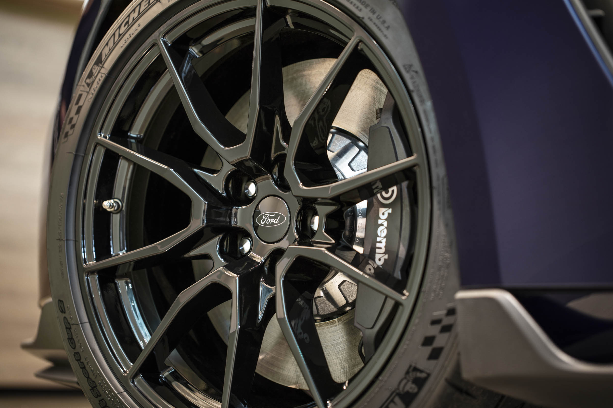 2019 Shelby GT350 wheel detail