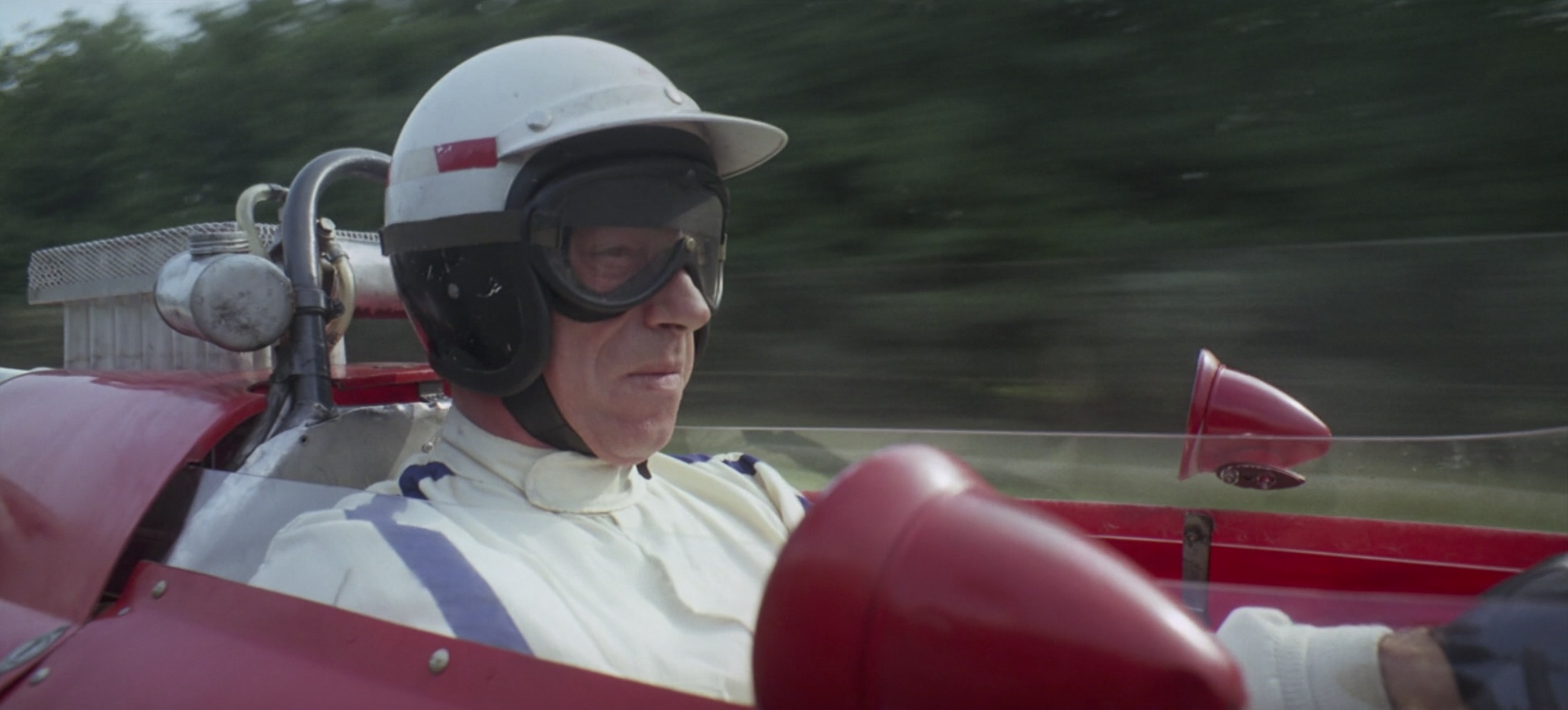 Grand Prix Ferrari Racer cockpit view