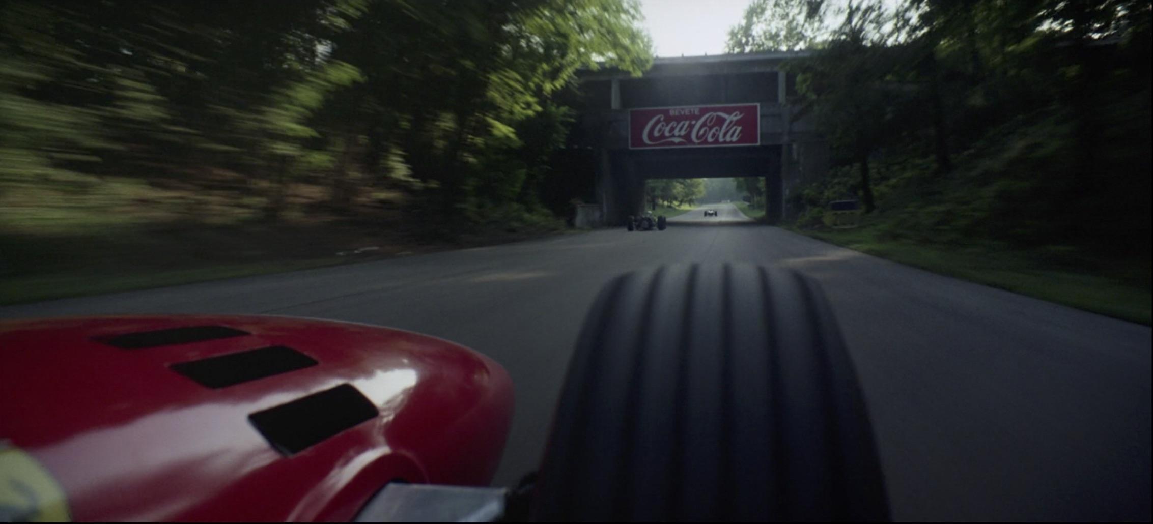 Grand Prix ferrari coca-cola race