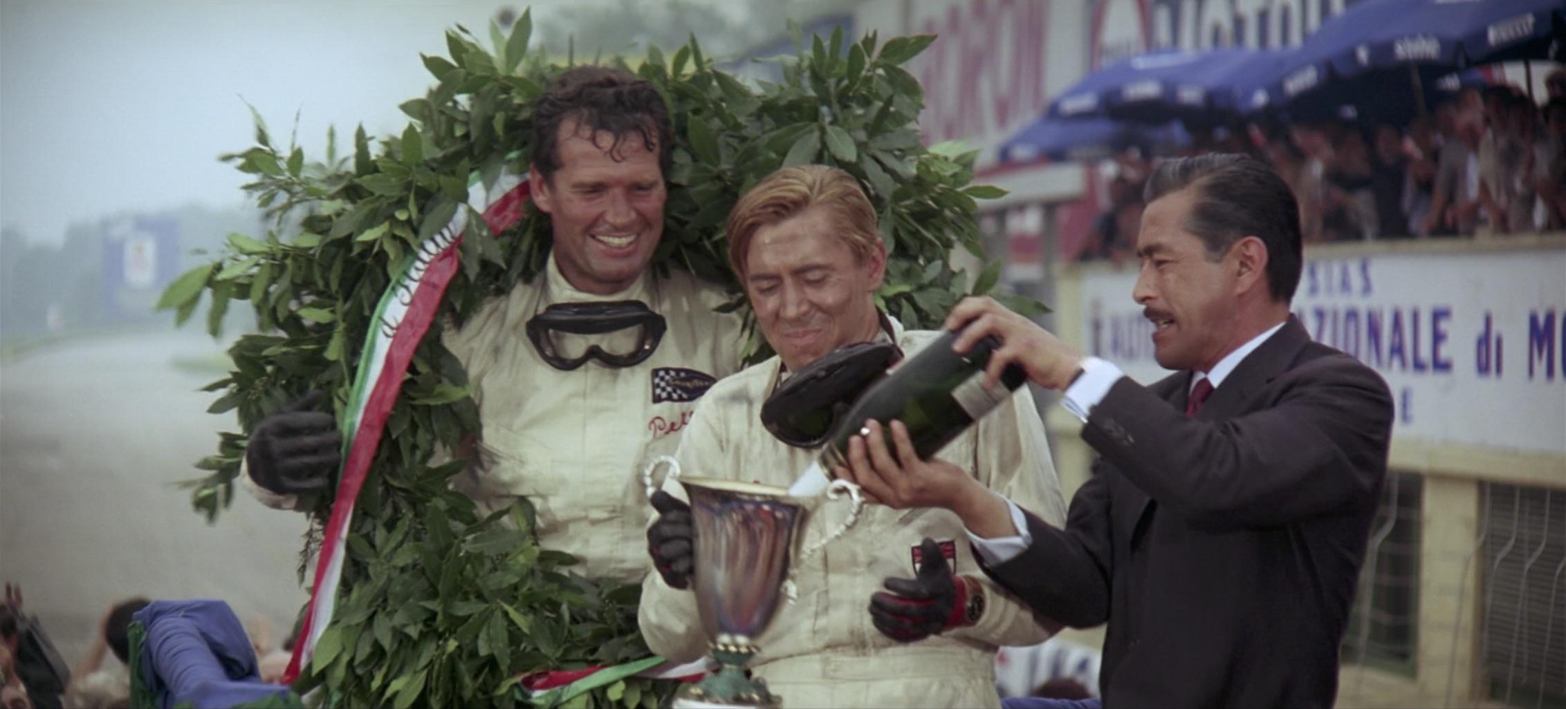 Grand Prix Race Finish