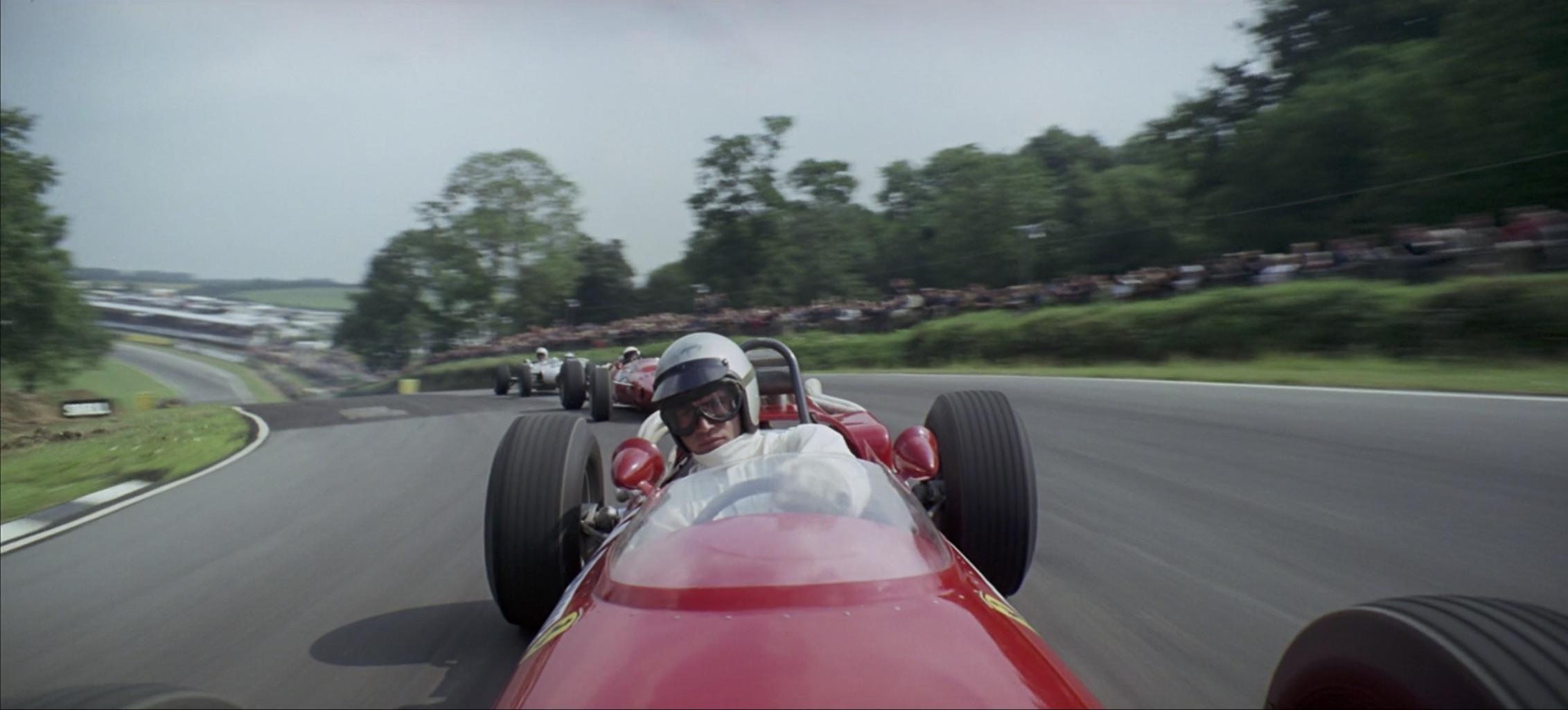 Grand Prix Ferrari in the lead
