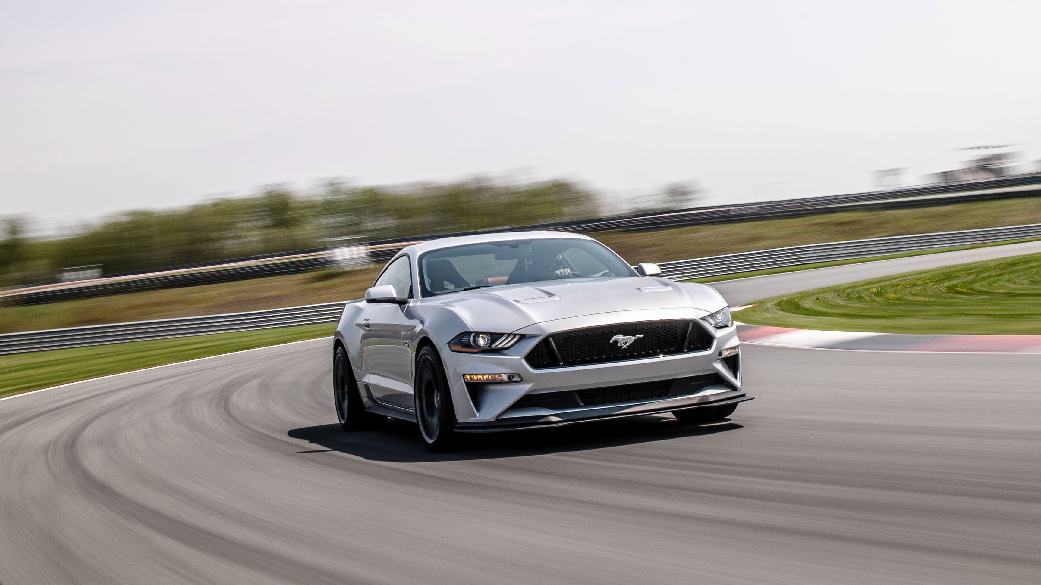 2018 Ford Mustang GT Performance Pack 2 on track corner carver