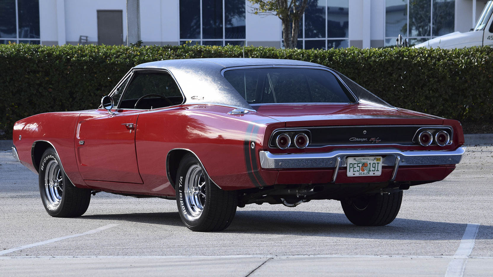 1968 Dodge Charger R/T rear