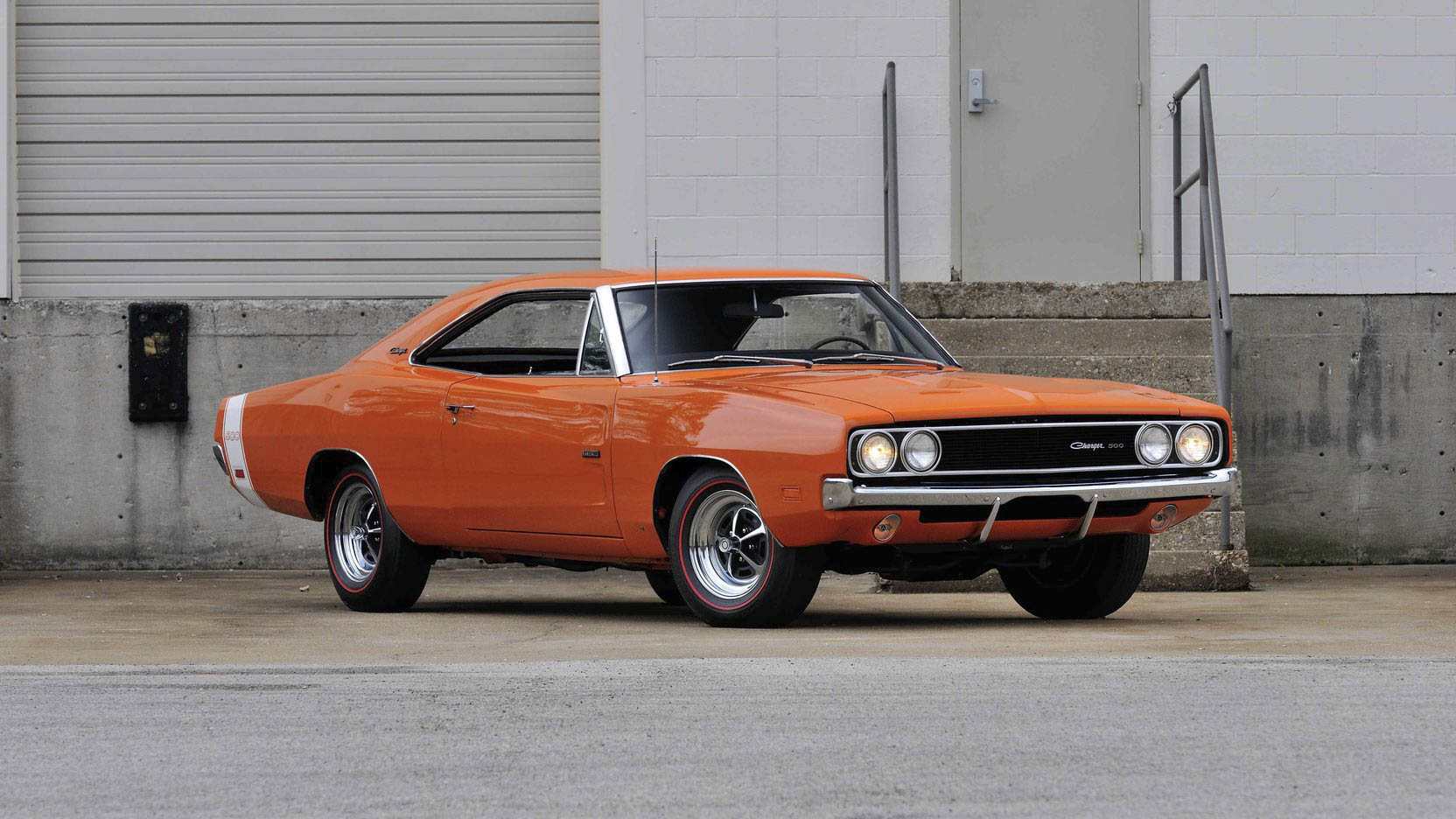 1969 Dodge Charger 500 front 3/4
