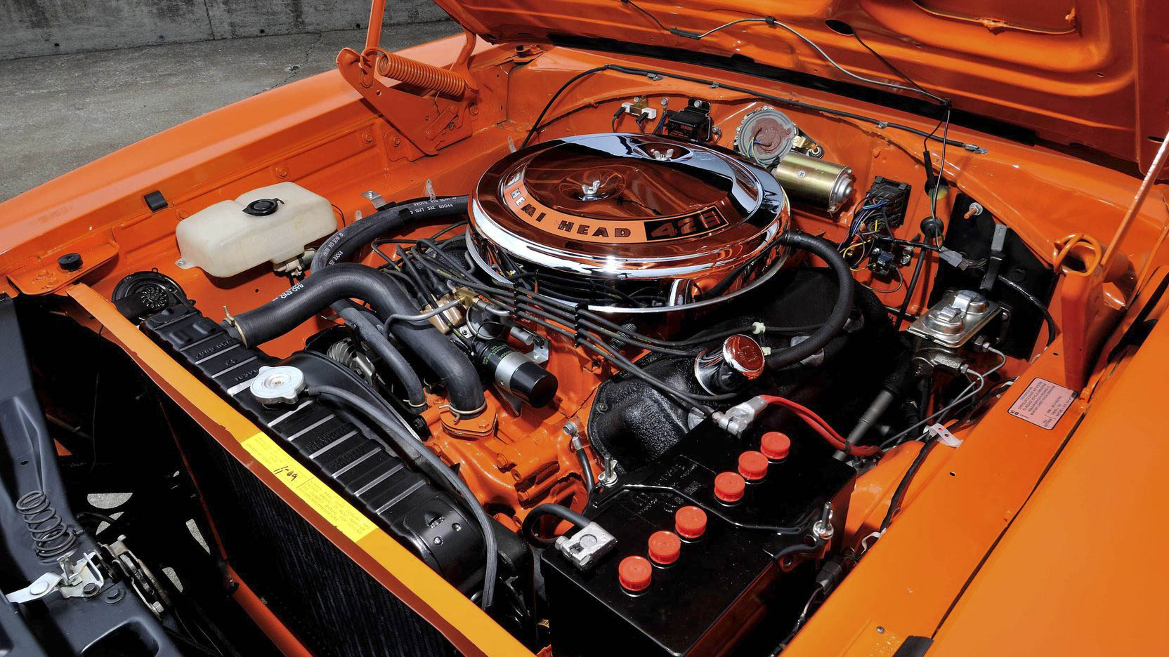 1969 Dodge Charger 500 engine