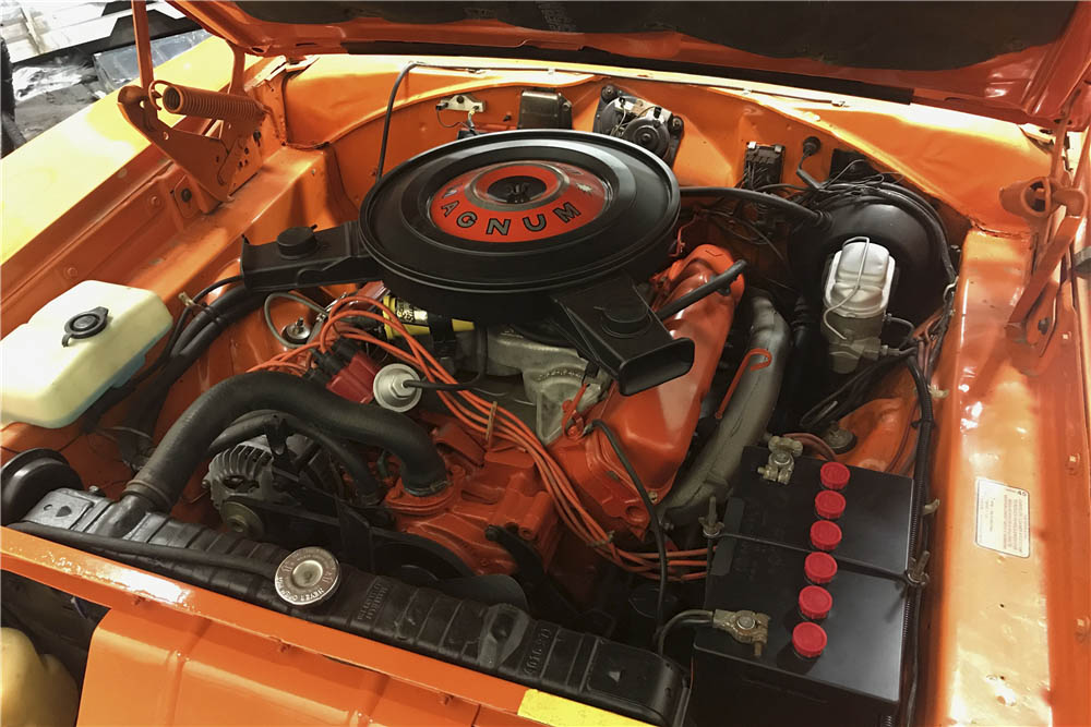 1970 Dodge Charger 500 engine
