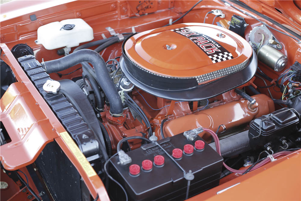 1970 Dodge Charger R/T engine