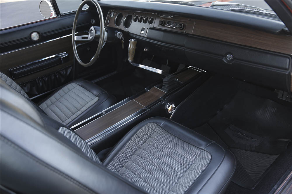 1970 Dodge Charger R/T interior