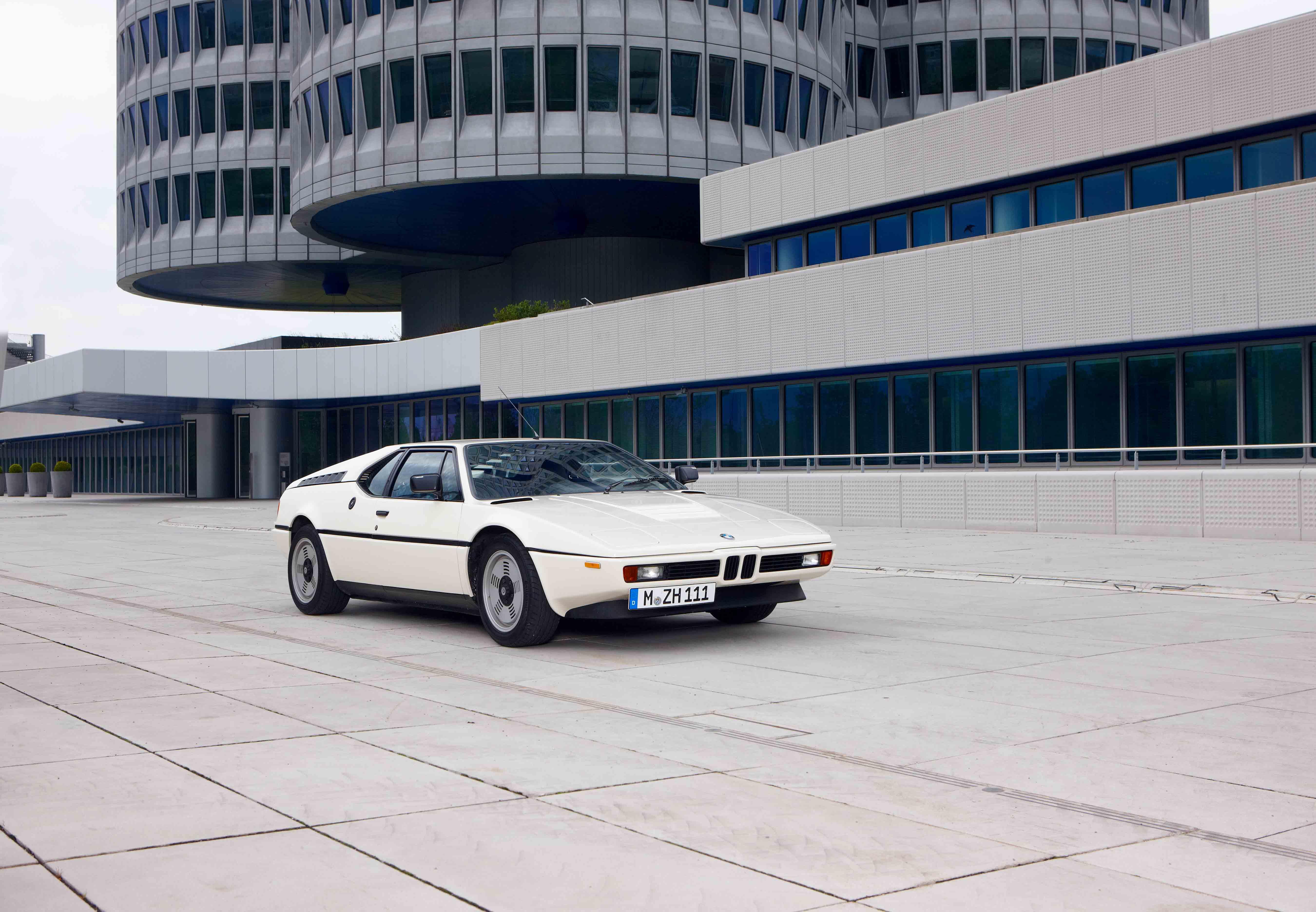 BMW M1 white bonhams