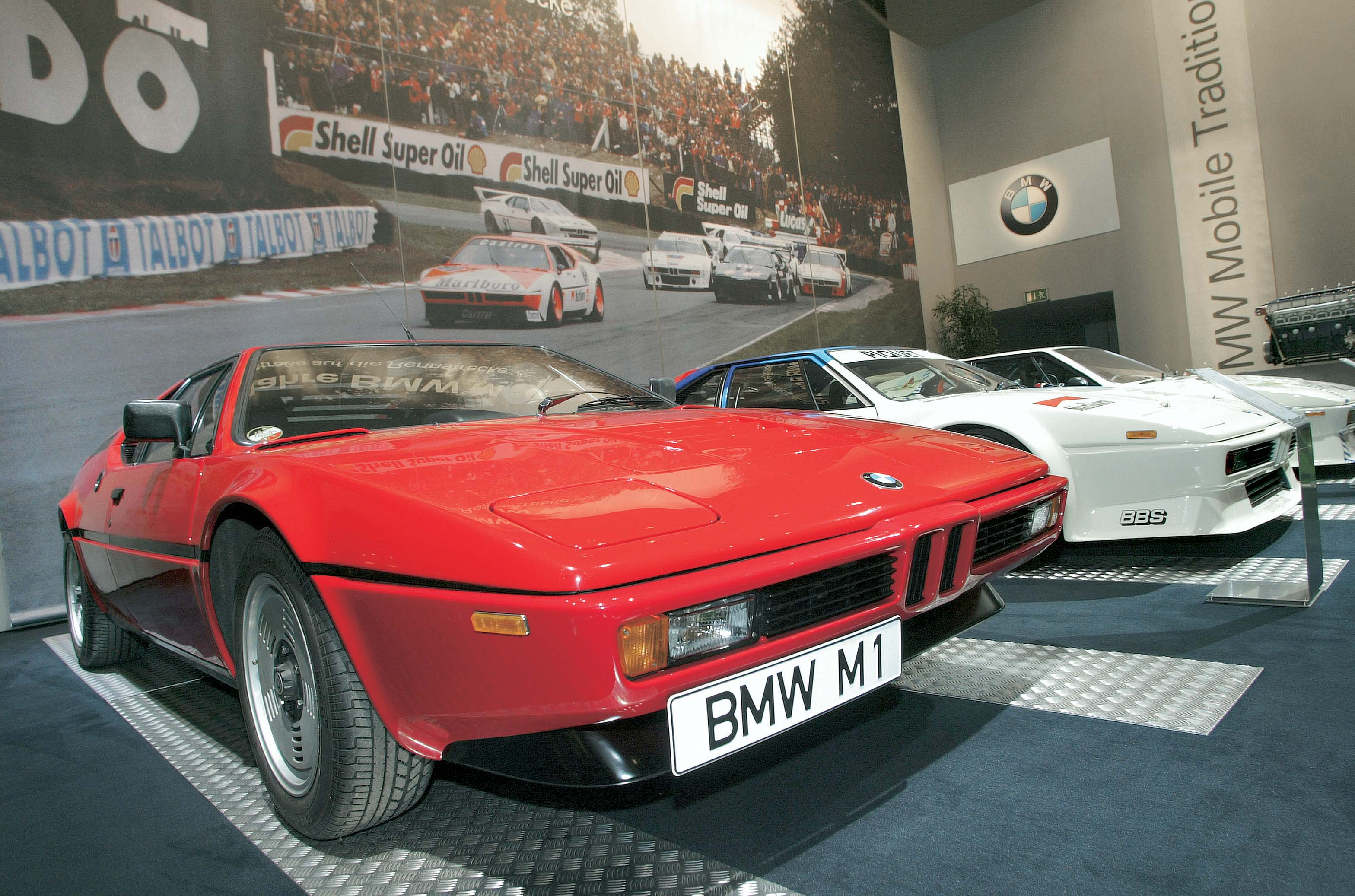BMW M1 museum exhibit