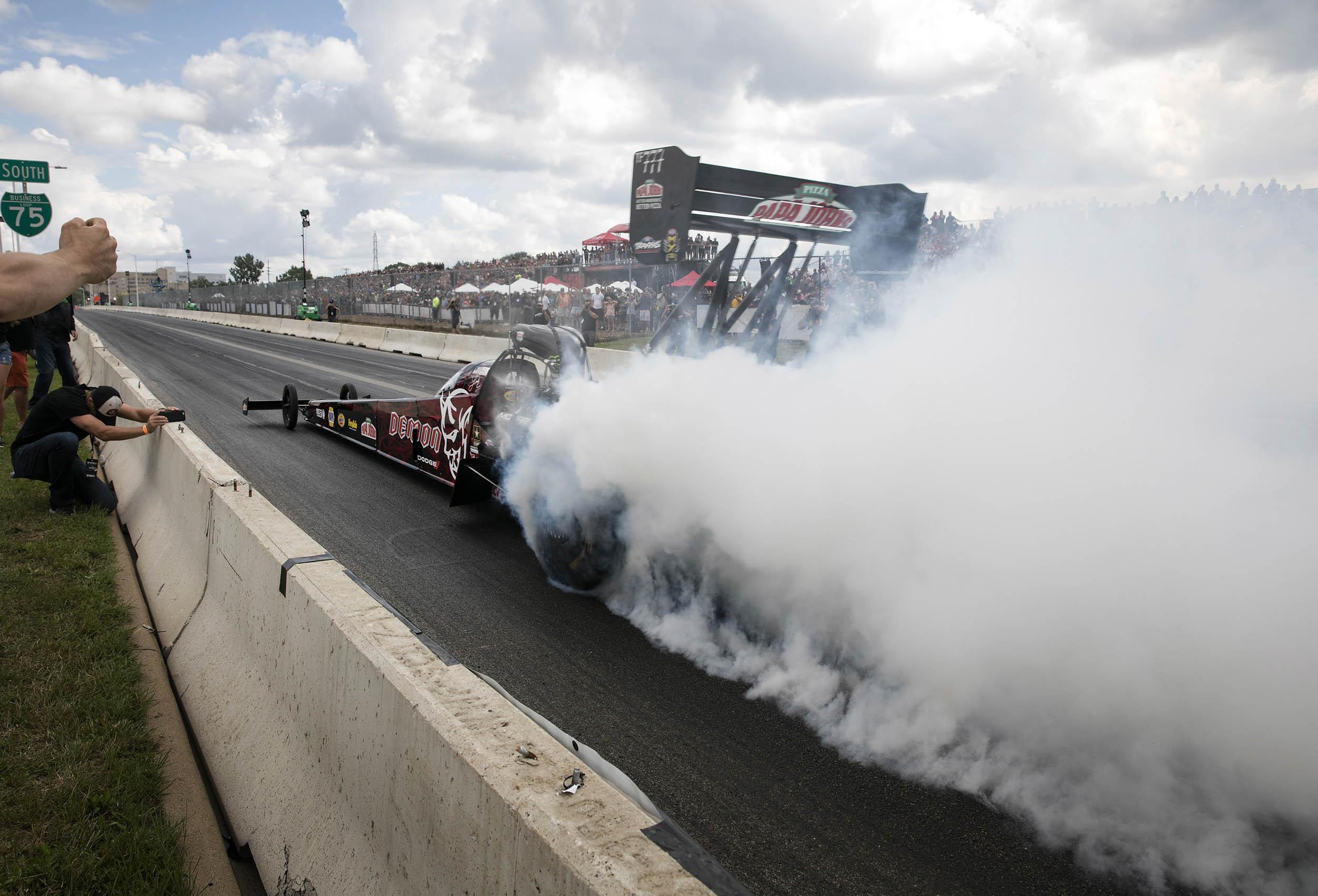 smokey burn out