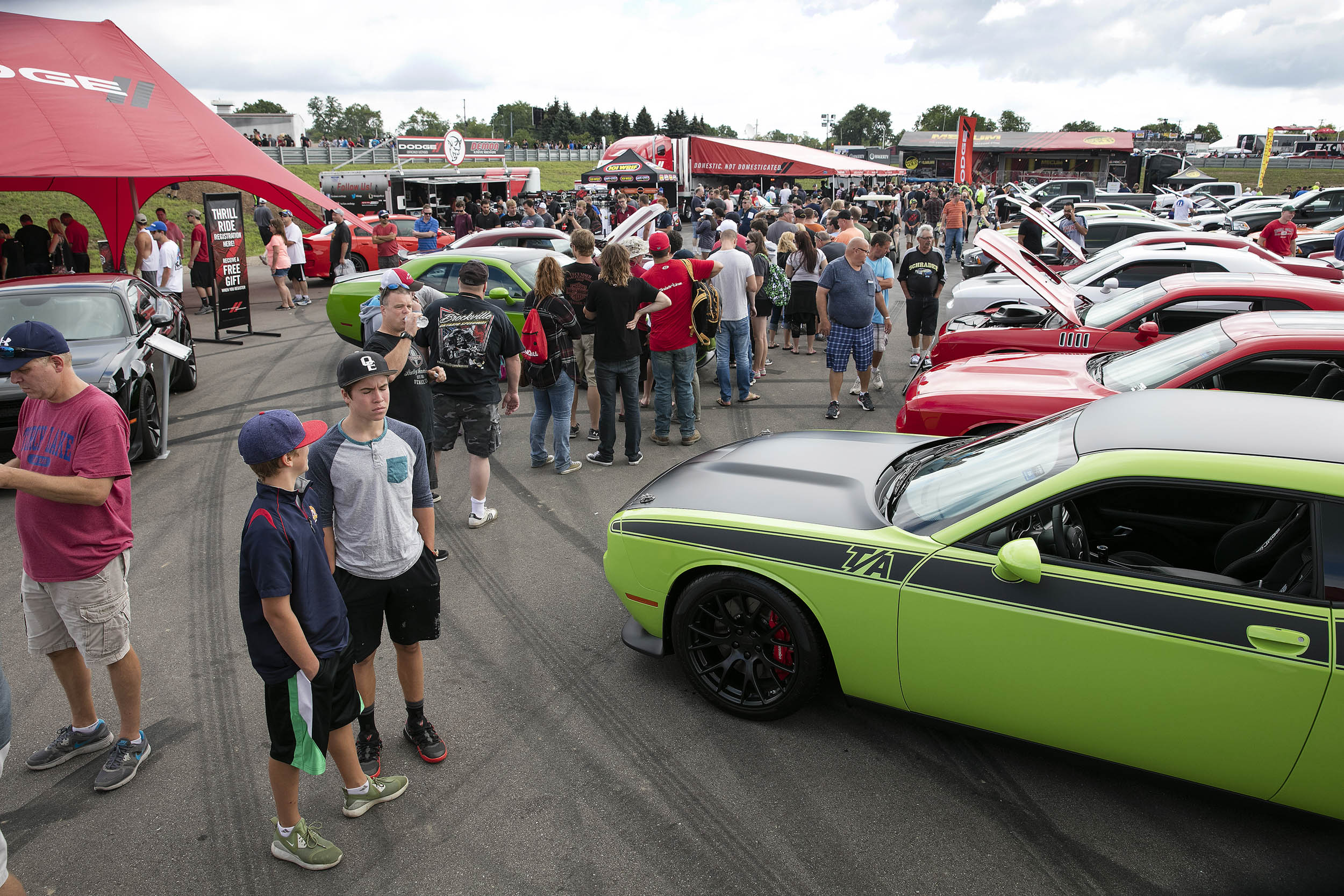 Roadkill Nights Powered by Dodge on Woodward avenue