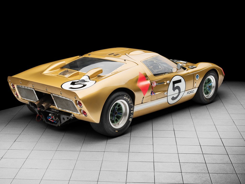 1966 ford gt40 rear 3/4 profile