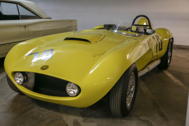petersen vault yellow race car number 70