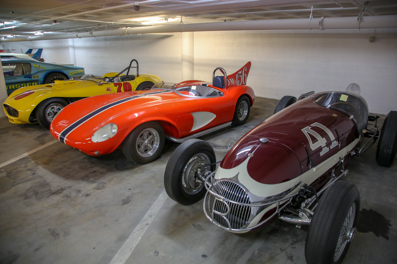 three petersen vault race cars