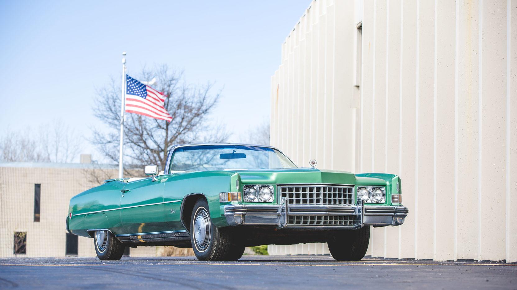 1973 Cadillac Eldorado low 3/4