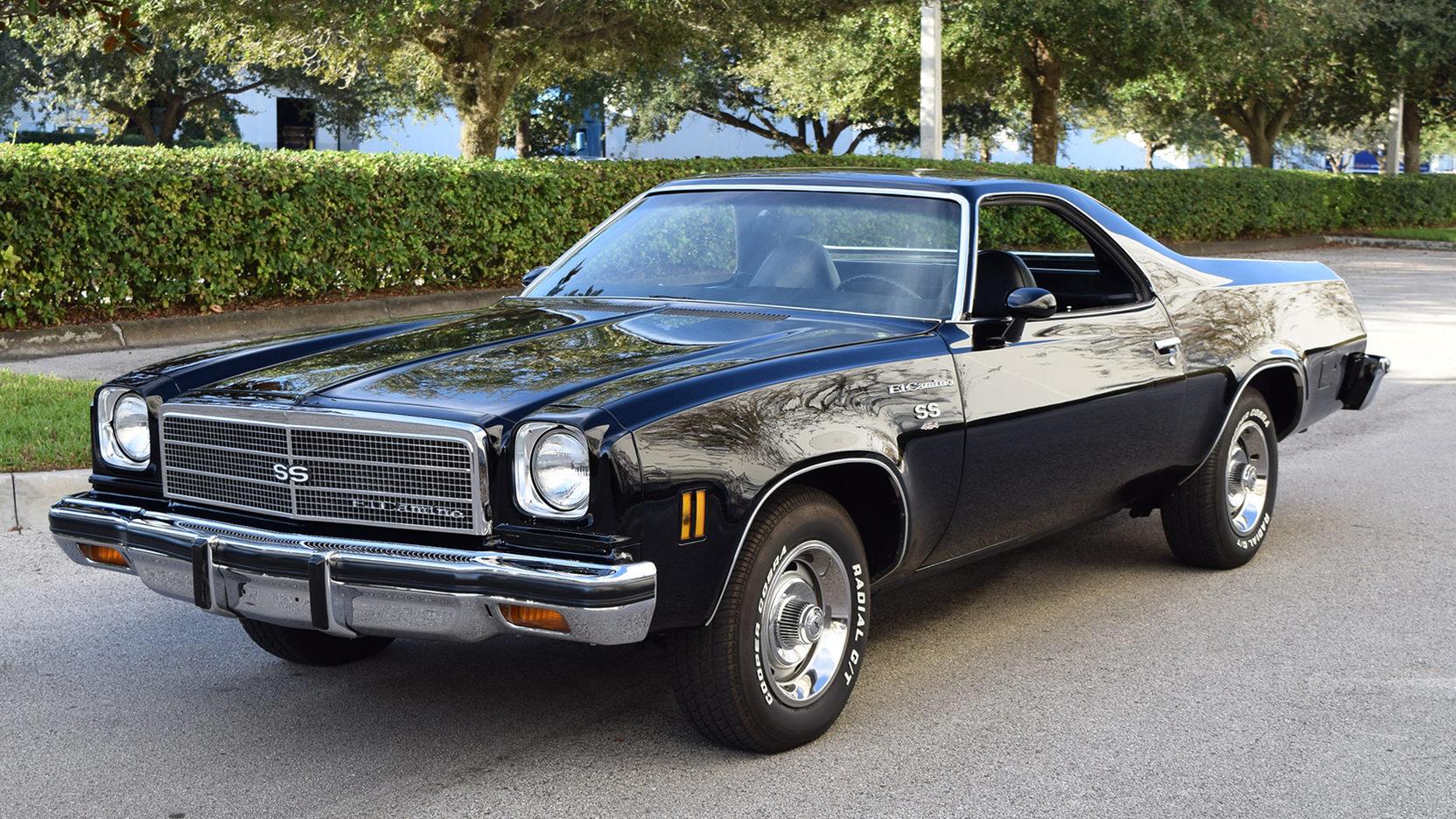 1974 Chevrolet El Camino Front 3/4