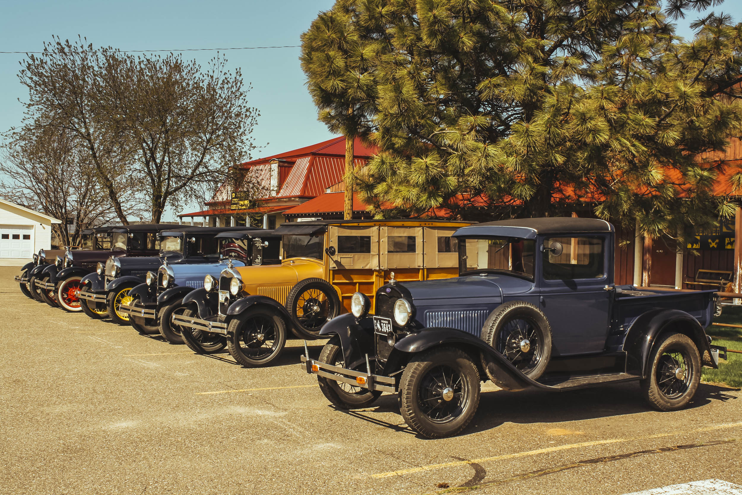 ford model a's at billings club