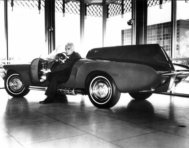 Virgil Exner Sr. and the XNR Concept