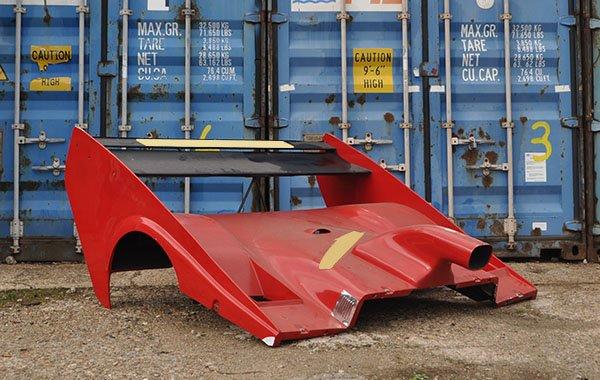 Ferrari Bodywork barnfind