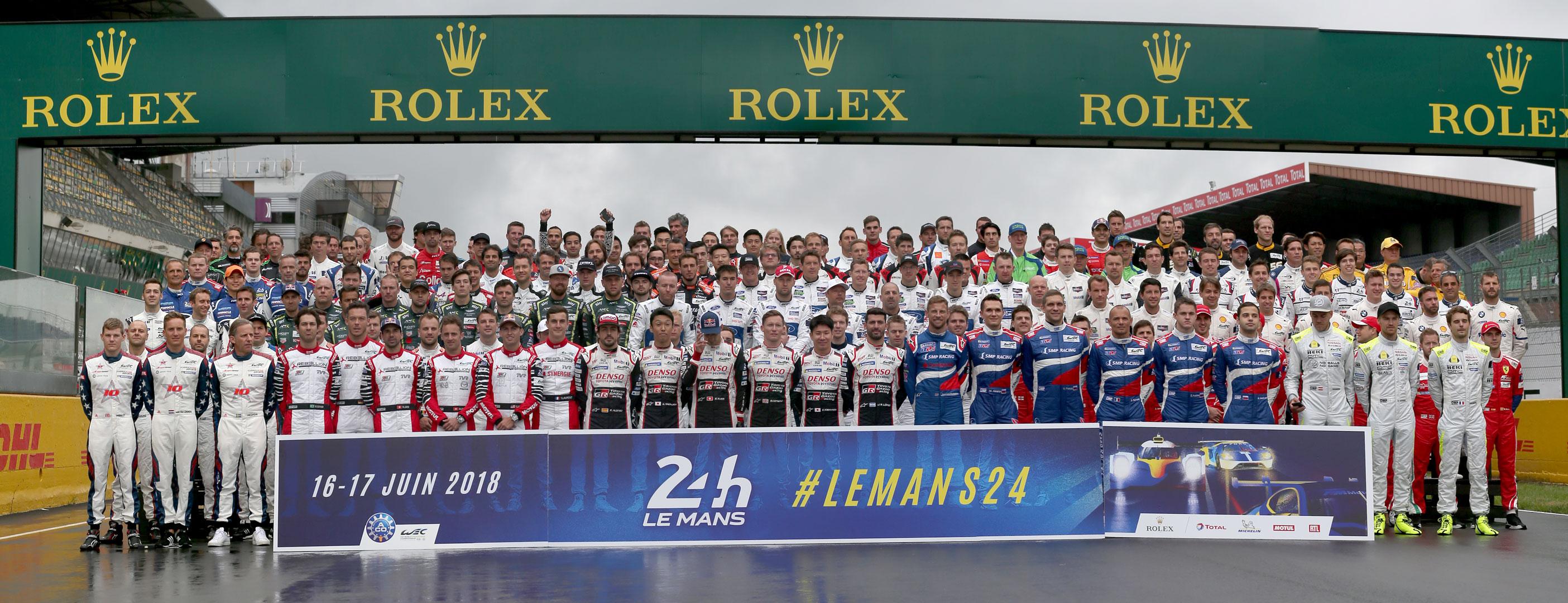 Le Mans 2018 drivers