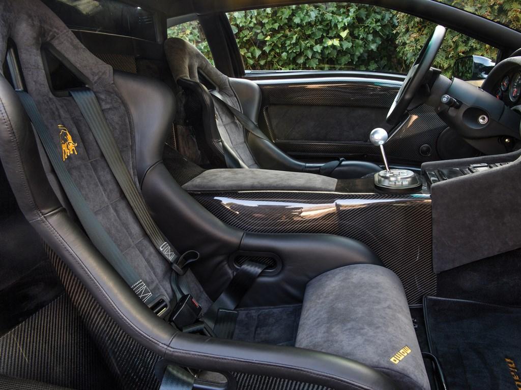 1999 Lamborghini Diablo GT seats
