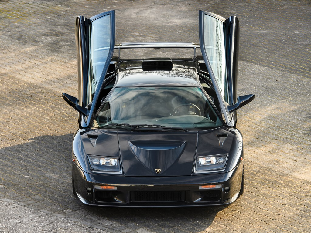 1999 Lamborghini Diablo GT doors up