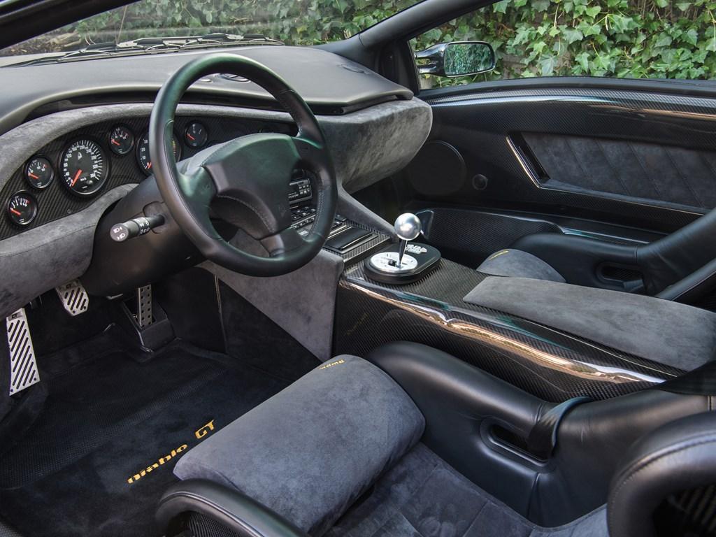 1999 Lamborghini Diablo GT interior