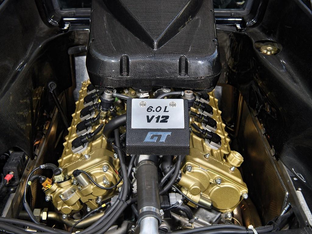 1999 Lamborghini Diablo GT engine