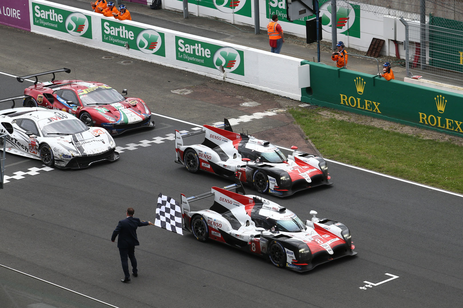 GR Super Sport Concept finish 1, 2 at Le Mans