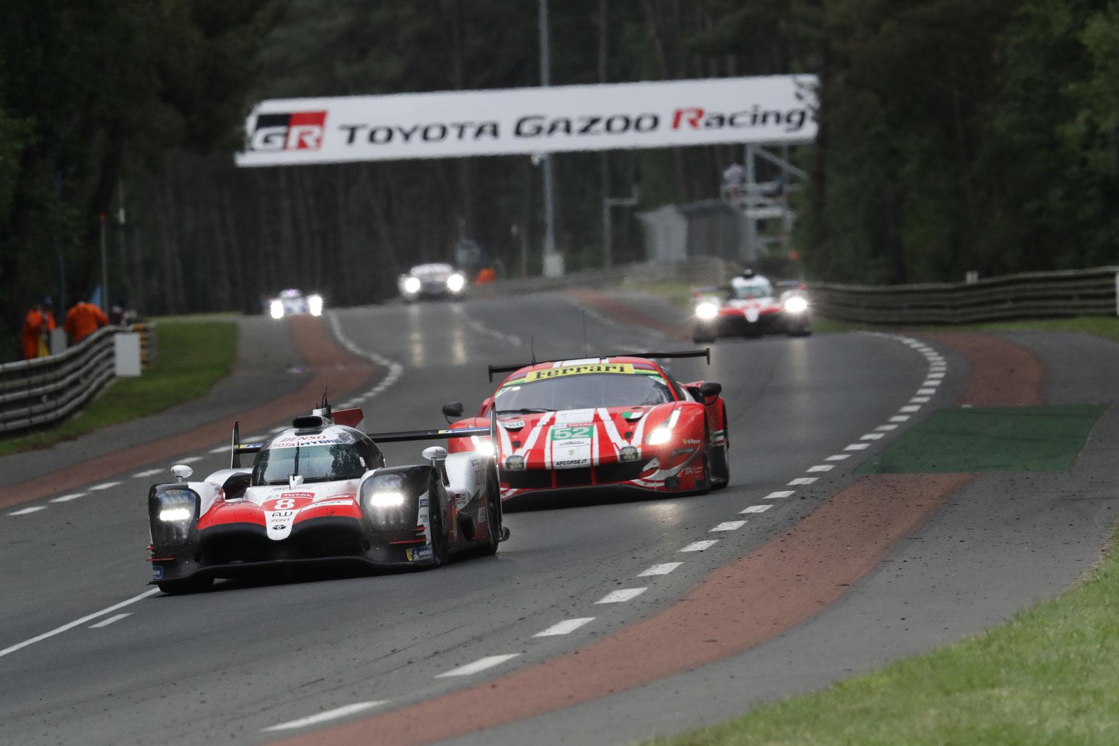 GR Super Sport Concept on the track
