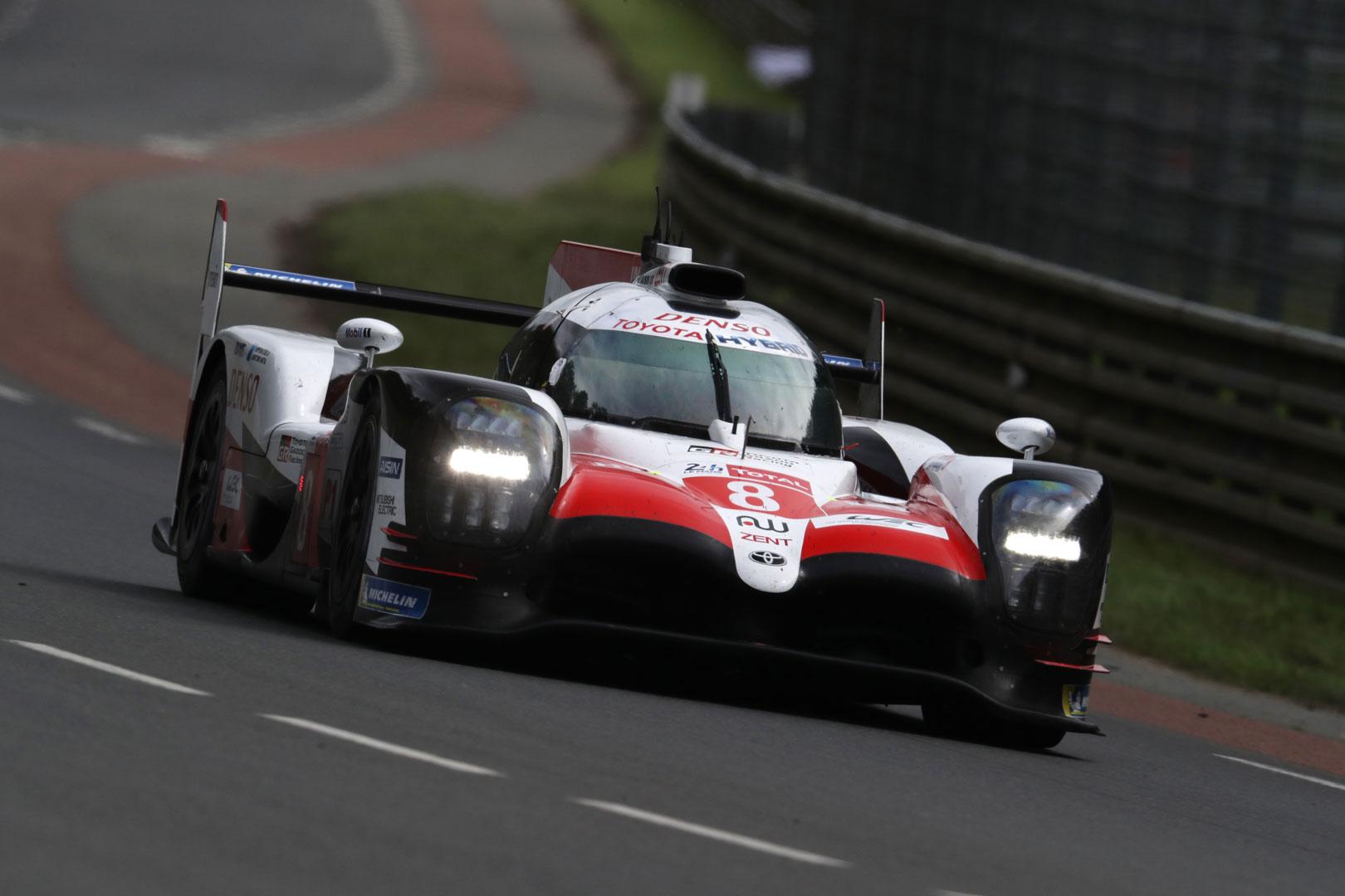 GR Super Sport Concept racing at Le Mans