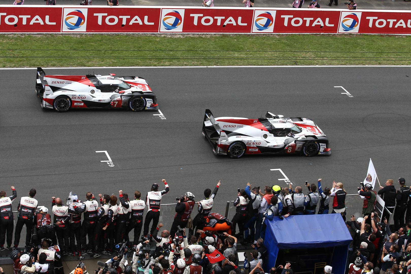Toyota Gazoo Racing at Le Mans 2018