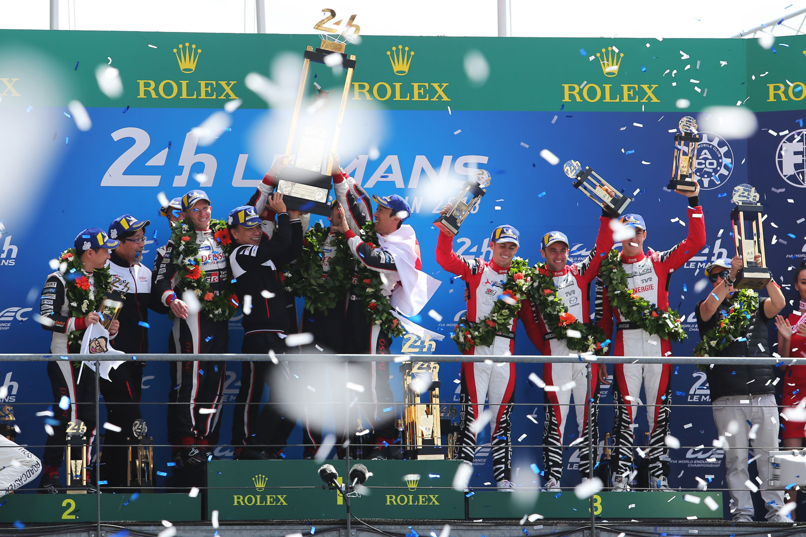 Toyota Gazoo Racing wins at Le Mans
