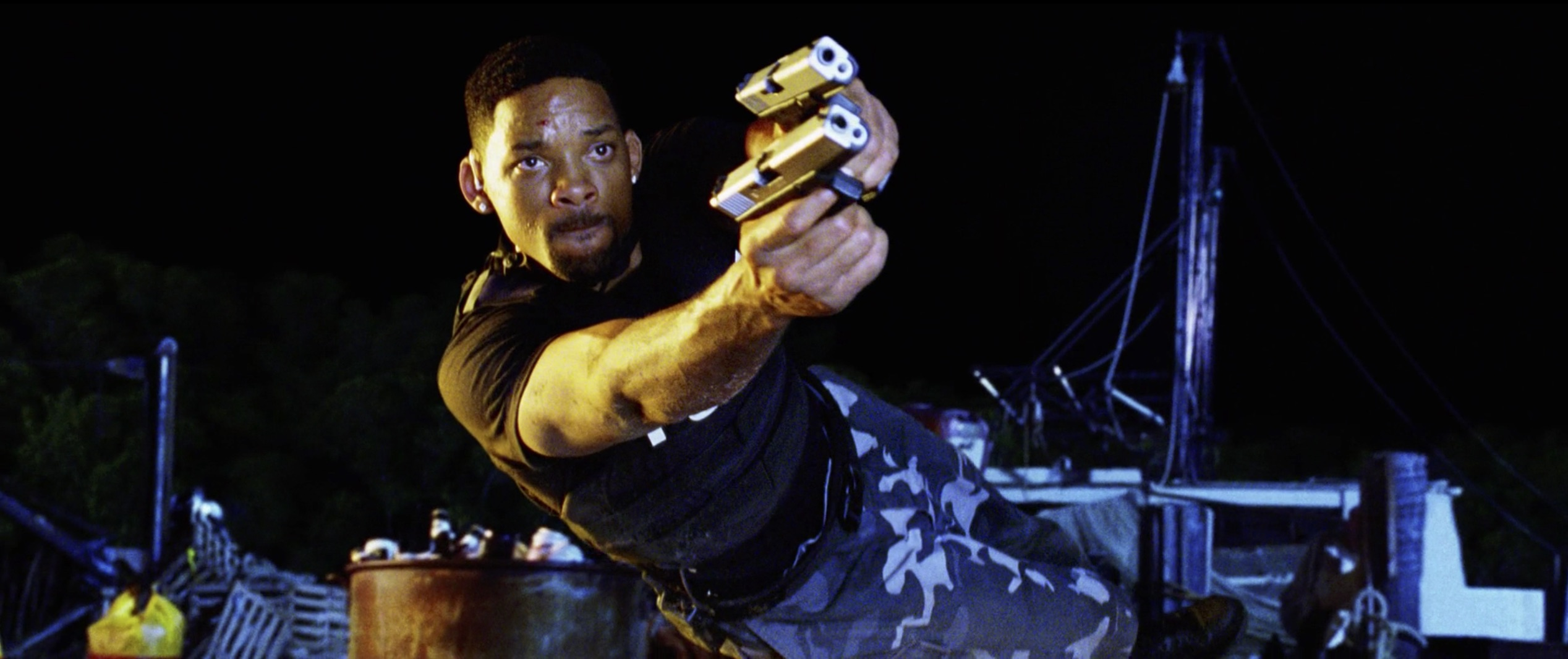 bad boys II will smith duel pistols