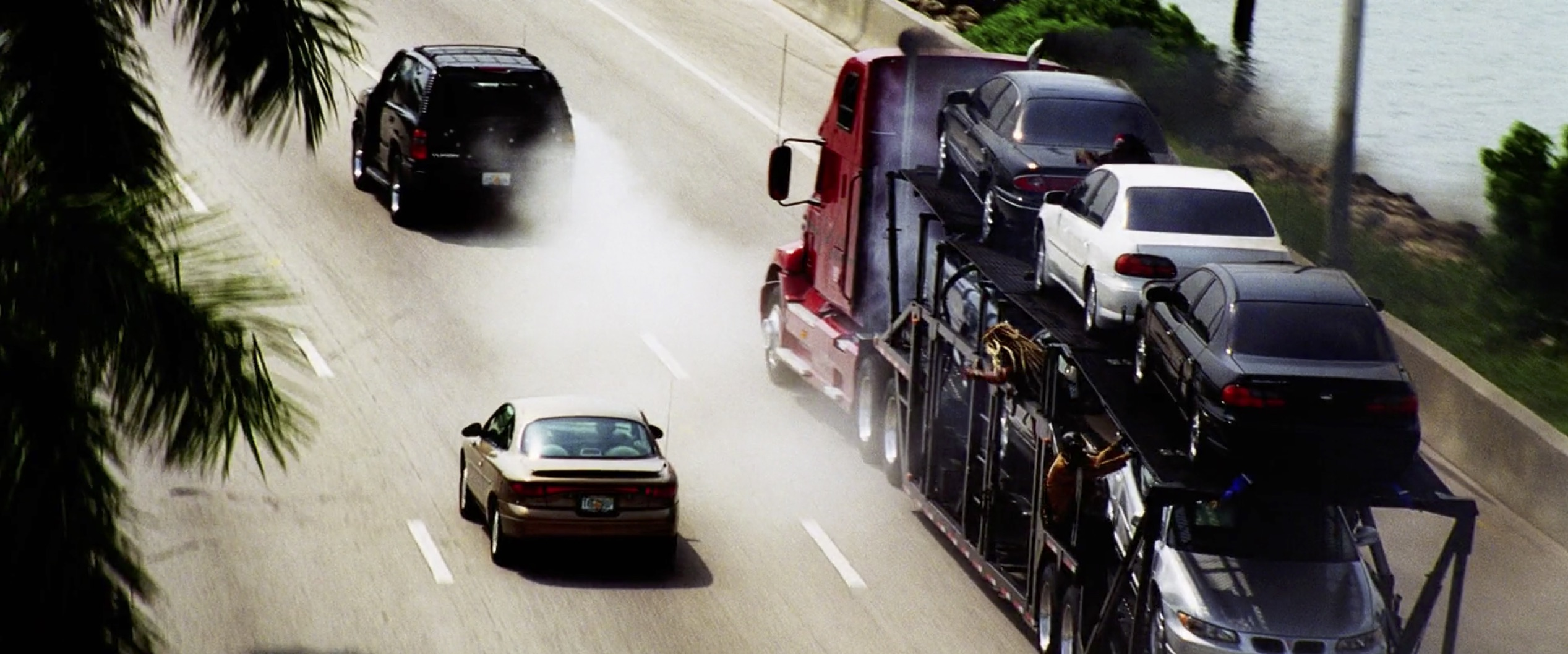 Bad Boys II semi truck chase