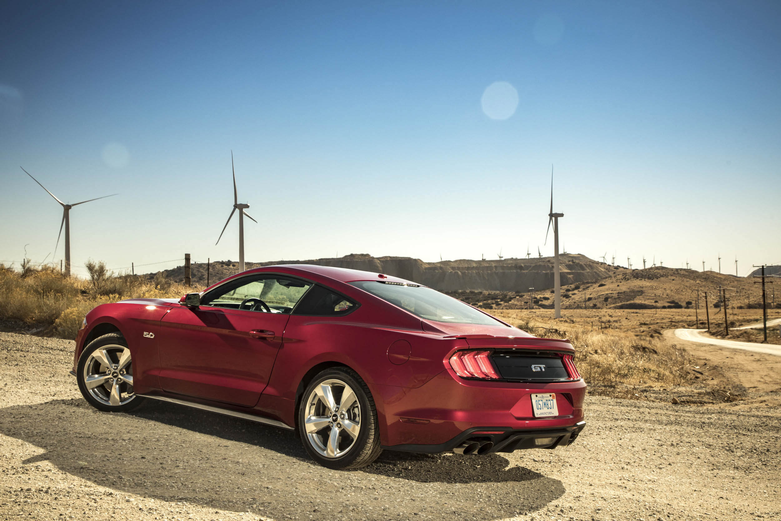 2018 Ford Mustang GT rear 3/4