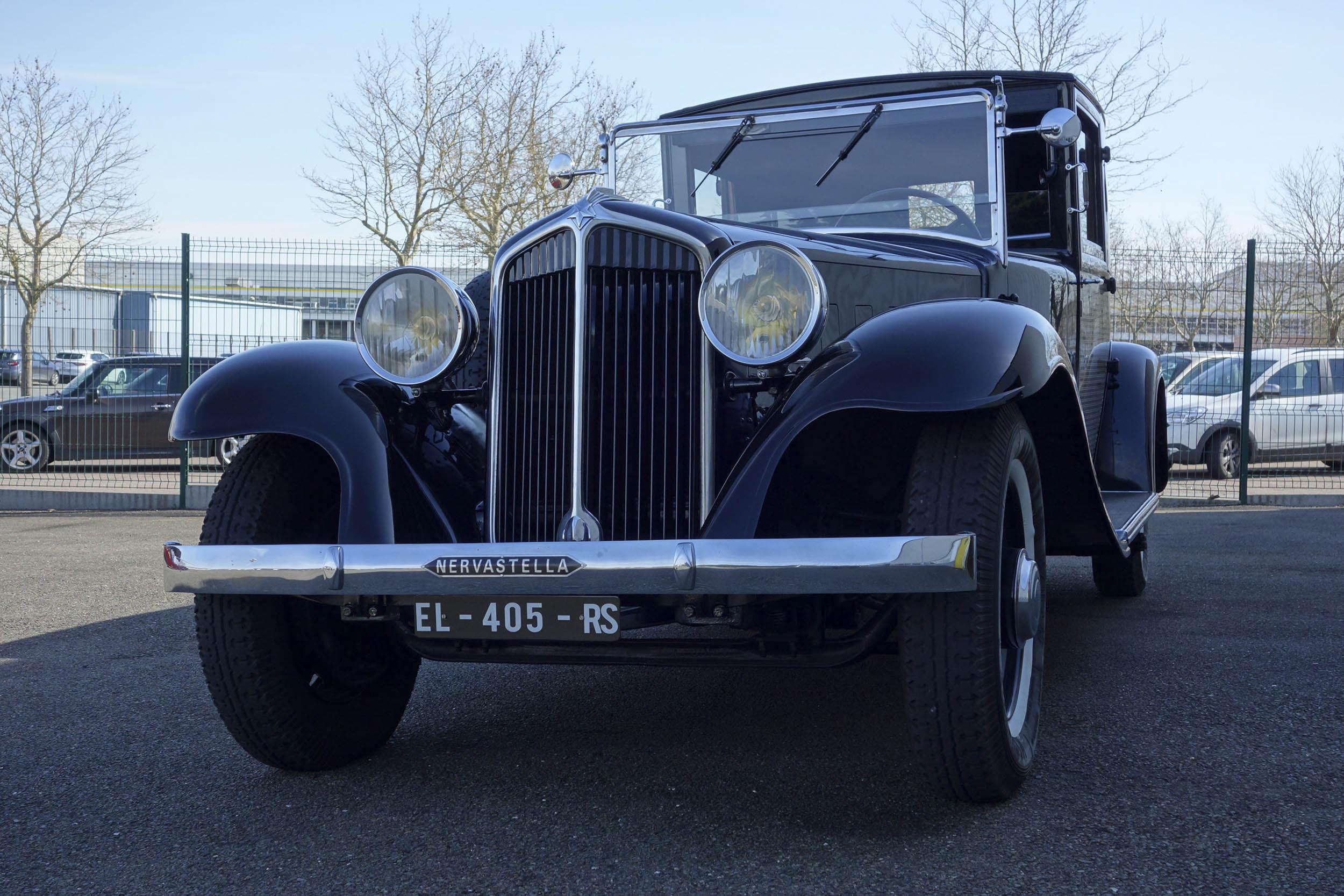 1929 renault nervastella coupe de ville front profile