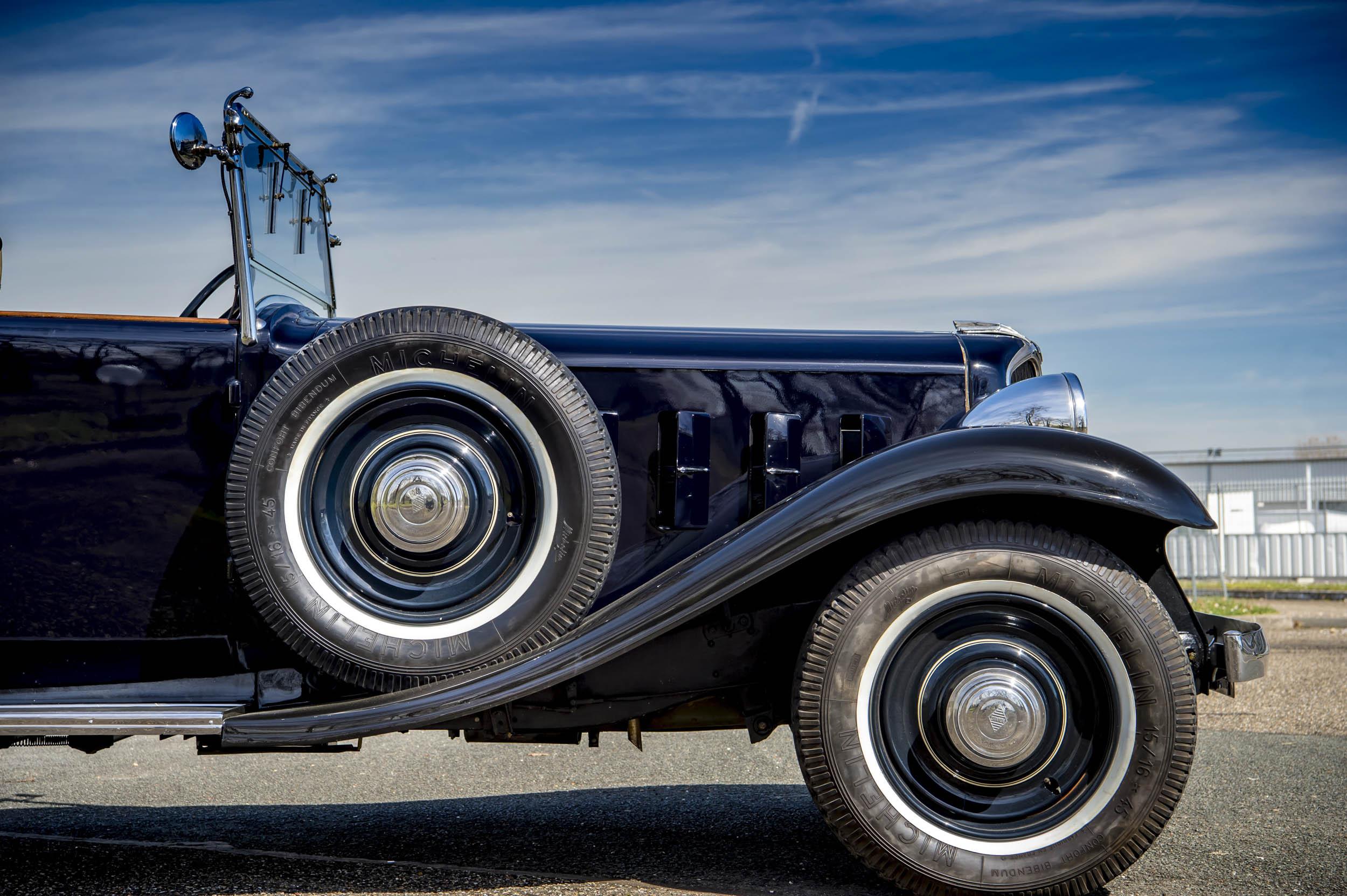 1929 renault nervastella coupe de ville front side