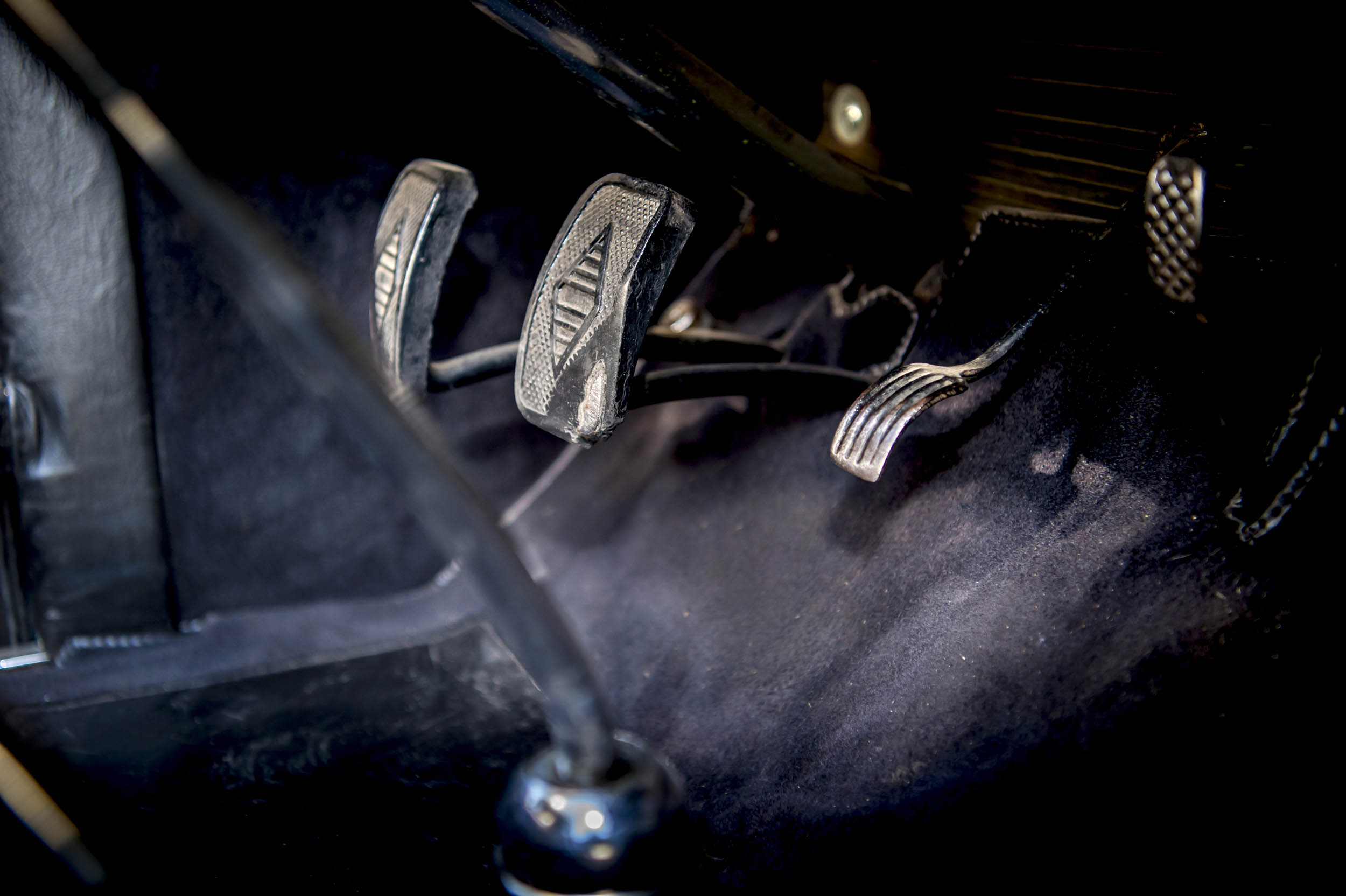 1929 renault nervastella coupe de ville pedals