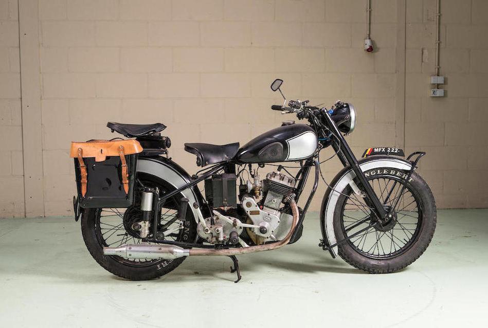 1950 Sarolea 350-cc AS