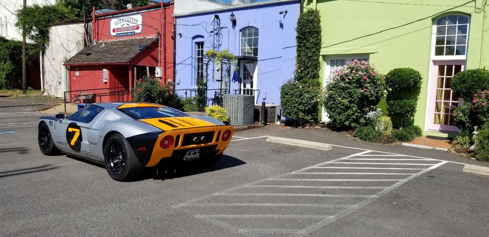 solar 7 ford gt back 3/4