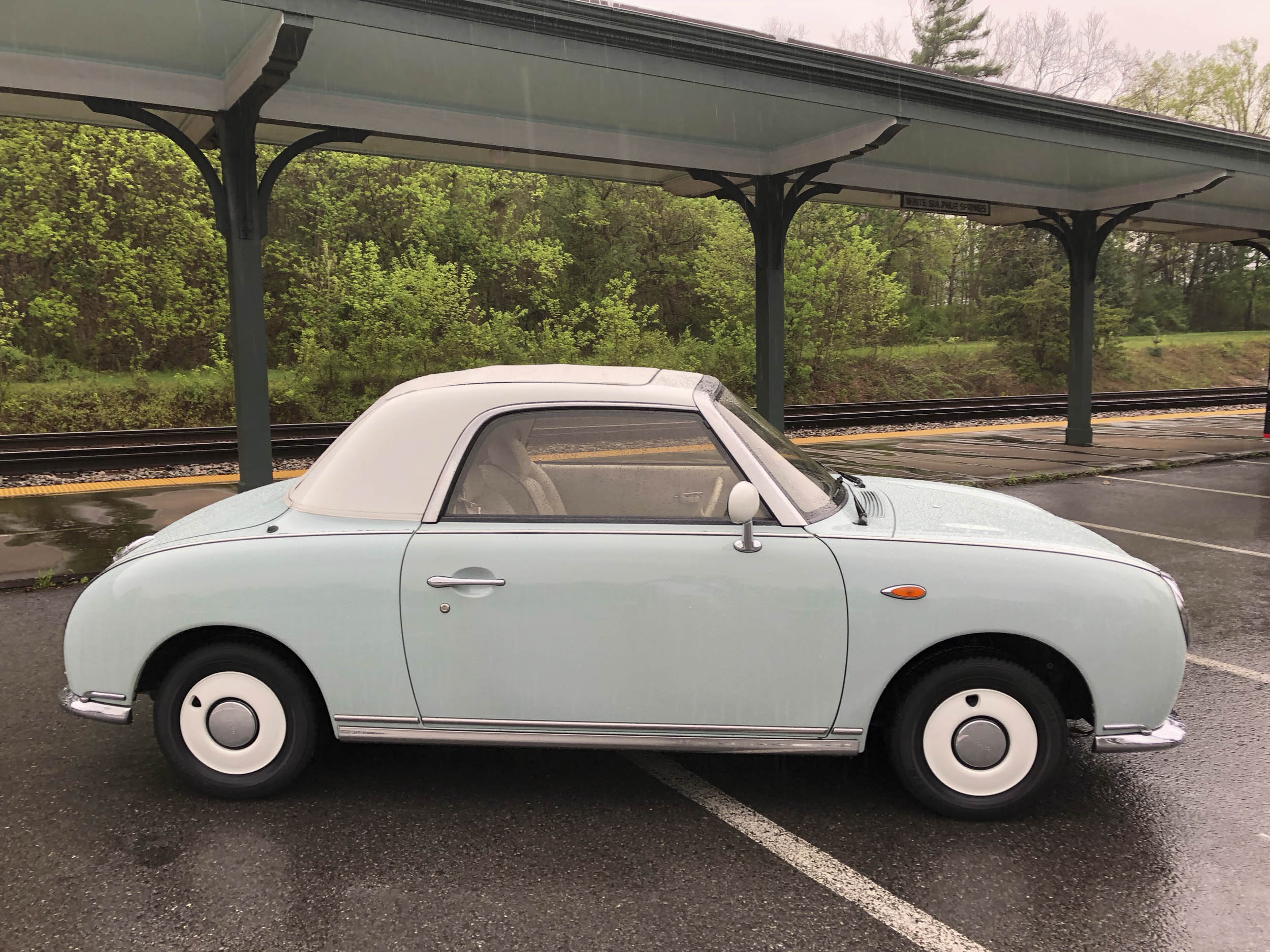 1991 Nissan Figaro profile