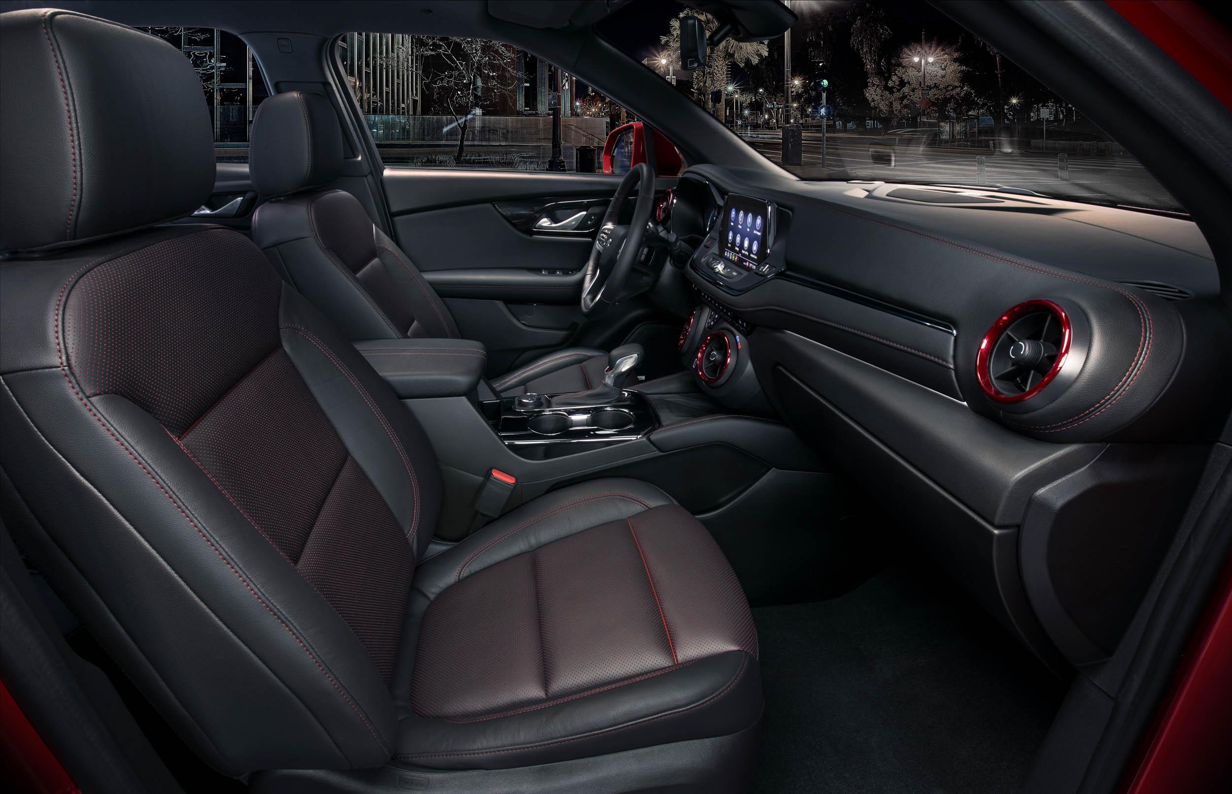 2019 Chevrolet Blazer passenger interior